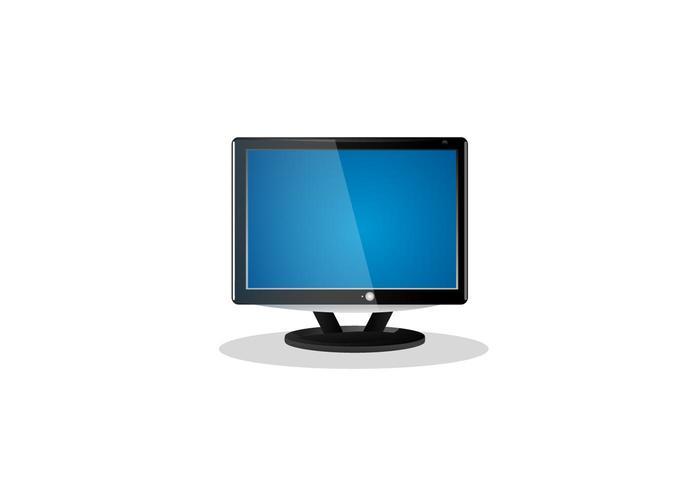 Flat Screen LCD TV