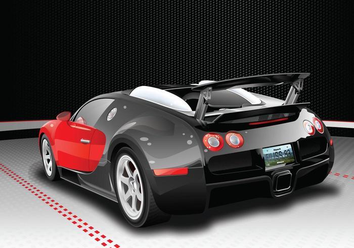 Bugatti Veyron Vector