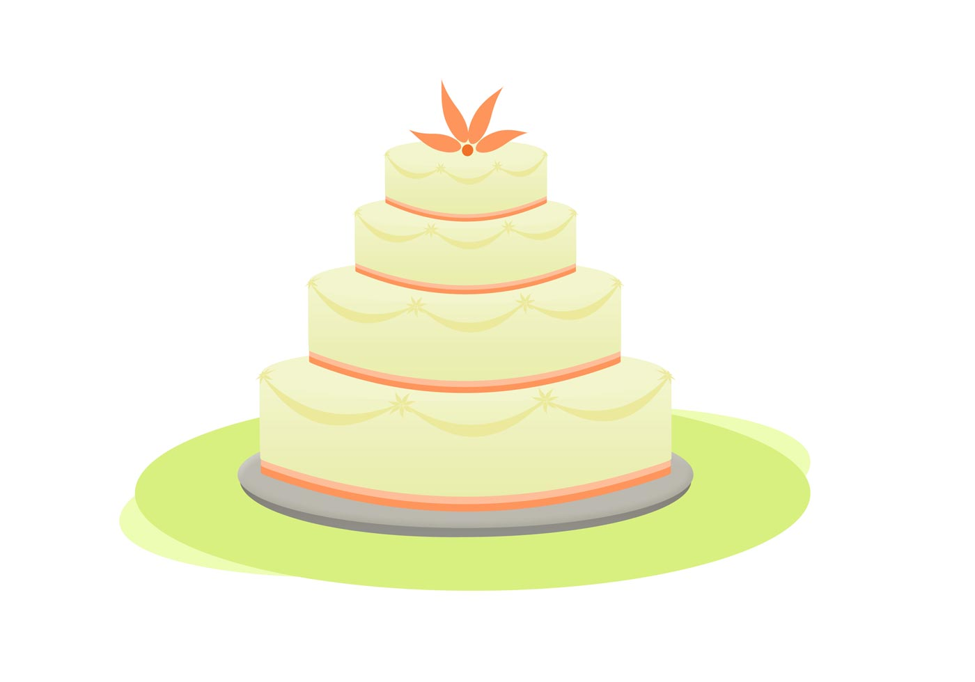 Cake Icing Vector