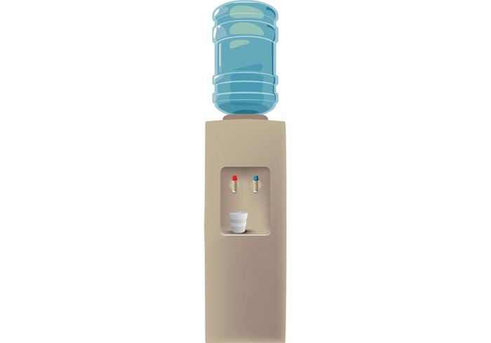 Free Water Cooler Vector