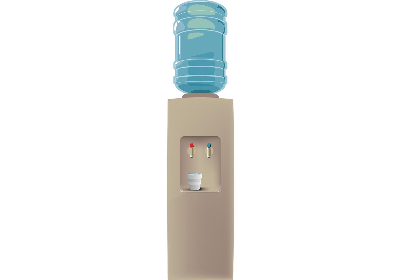 Free Water Cooler Vector