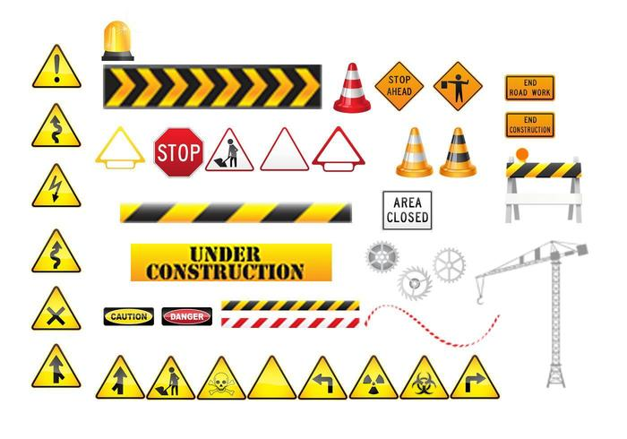 Under Construction Vector Pack