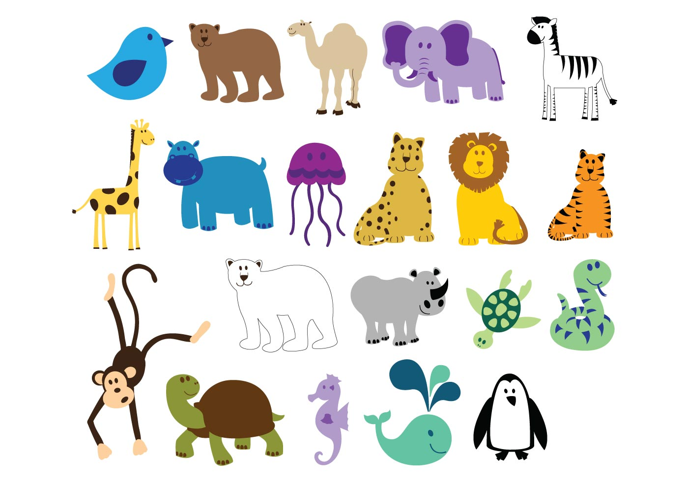 Image Result For Zoo Animal Coloring