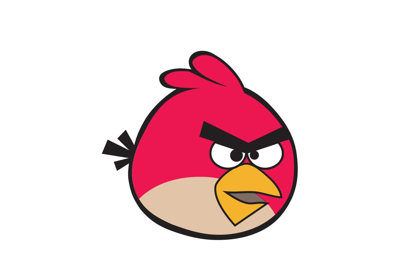 Angry Birds Vector Images Image collections - Wallpaper ...