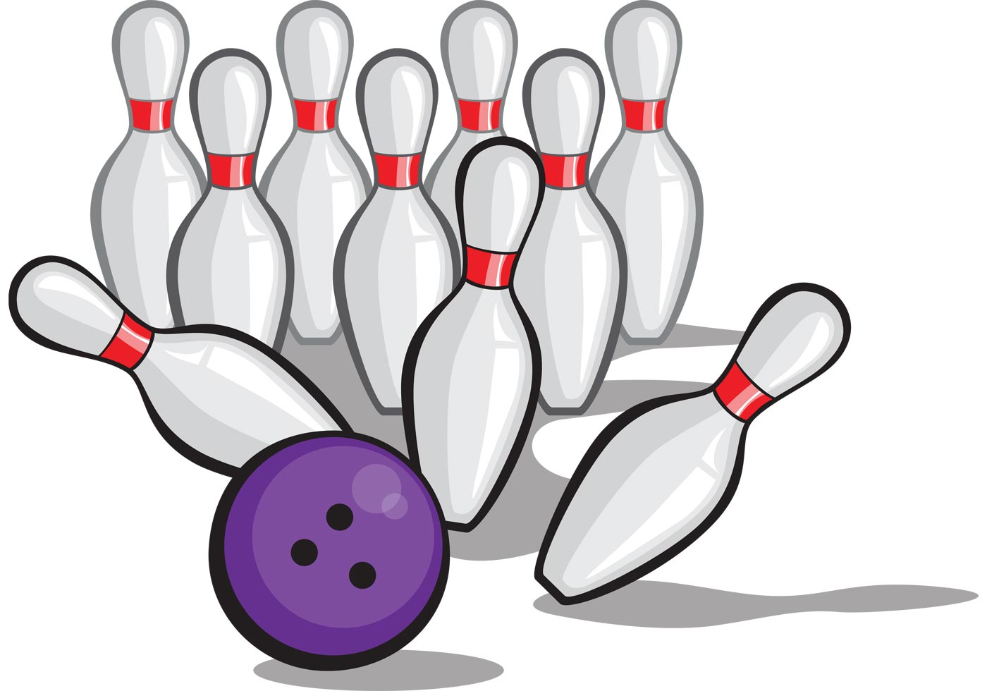 Free Bowling Ball Vector
