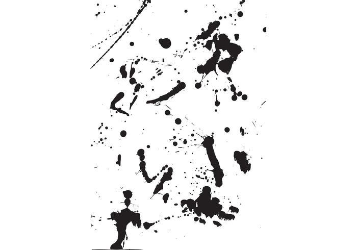 Paint Splatters & Spills Vectors