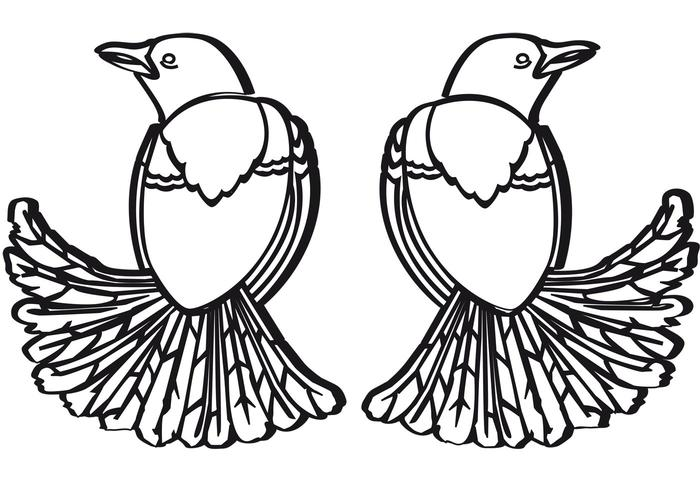 Merli - Two Birds Vector