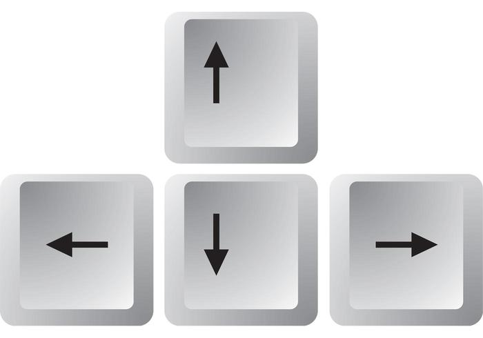 Arrow Keys Vectors