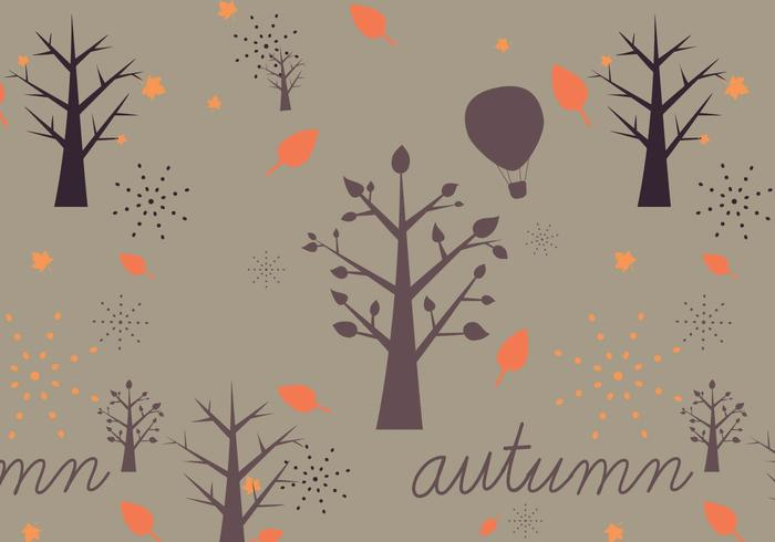 Autumn Vector Pattern
