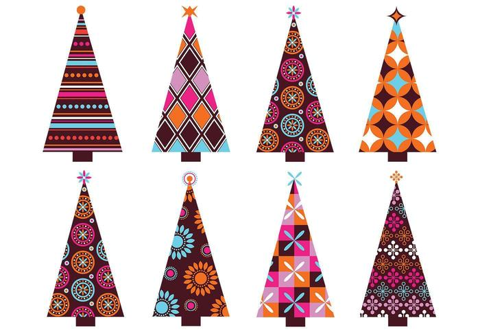 Gepatenteerde Kerstboom Vector Pack