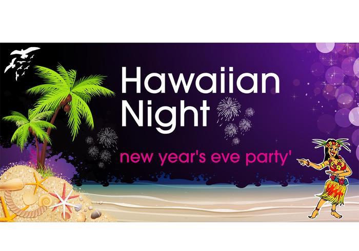 Hawaiian Night Party Background