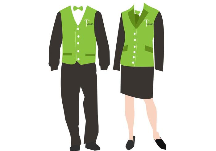Staff Uniform Vectors