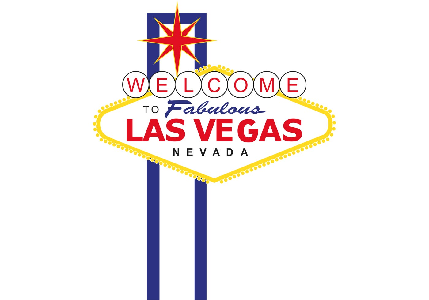 Sign Vector for Las Vegas Sign - Download Free Vectors ...