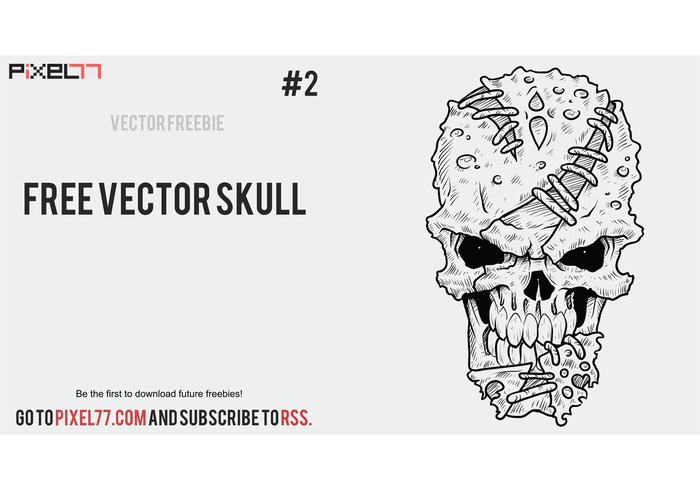 Weekly Freebie #2: Vector Skull from Pixel77 & How It's Made
