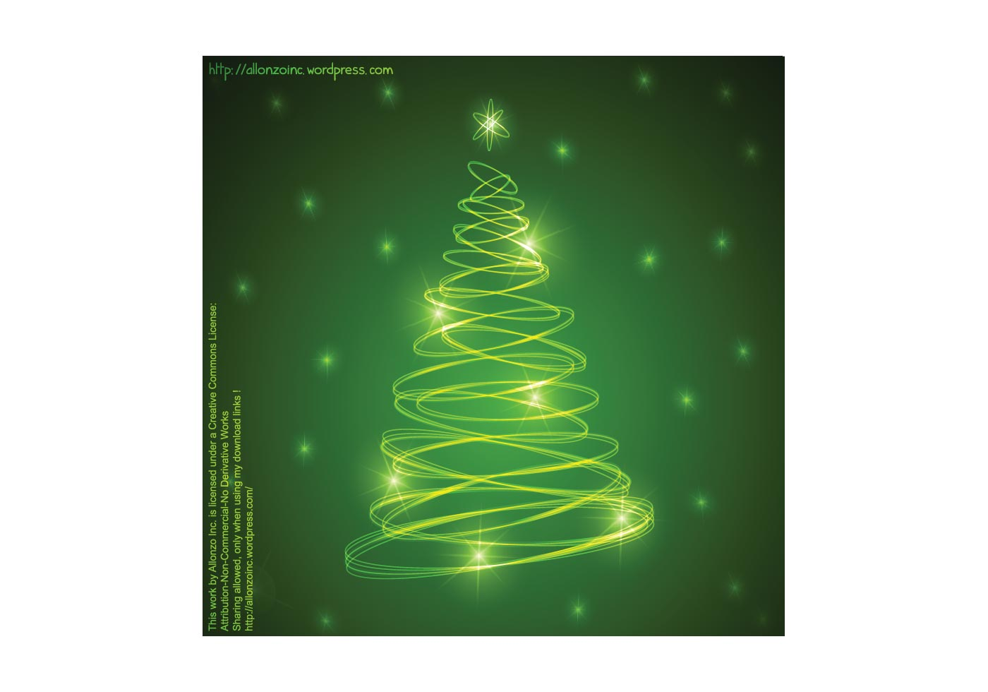 Abstract Christmas Tree Background 2 Download Free
