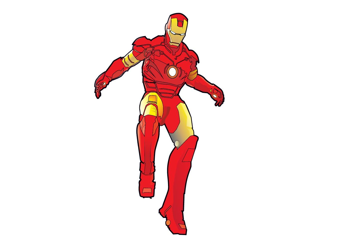 Iron man vector download free vectors clipart graphics - Iron man cartoon download ...