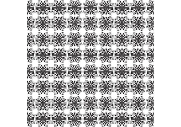 Black and White Background Vector