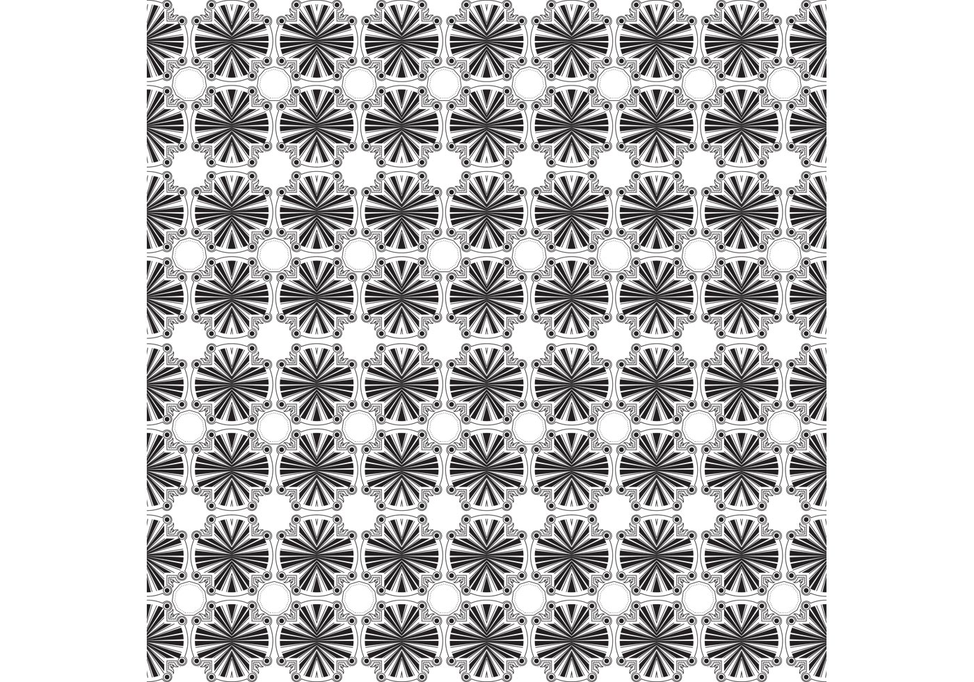Free Black and White Background Vector