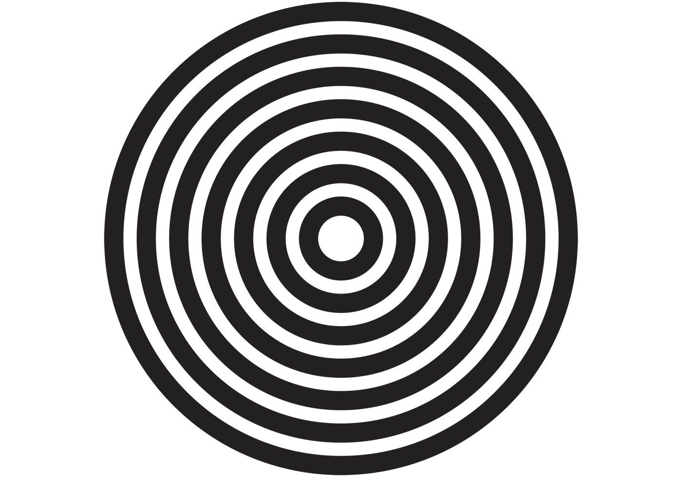 Círculos Concéntricos- Concentric Circles Vectors -Yahuali Nahuak