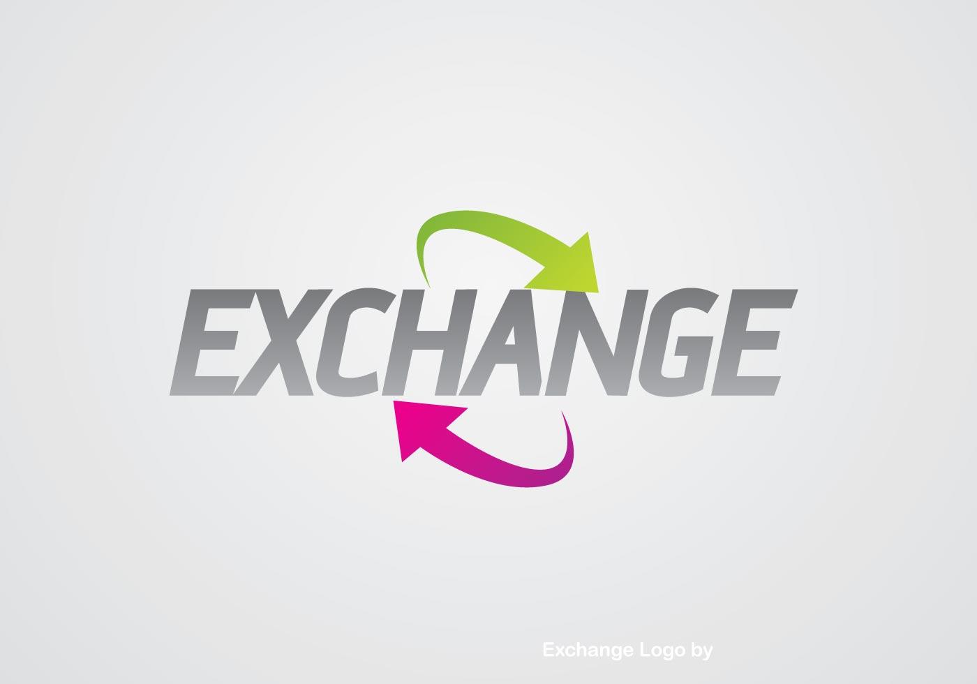 exchange logo download free vector art stock graphics