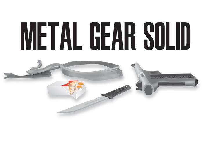 Gear Vector - Metal Weapons