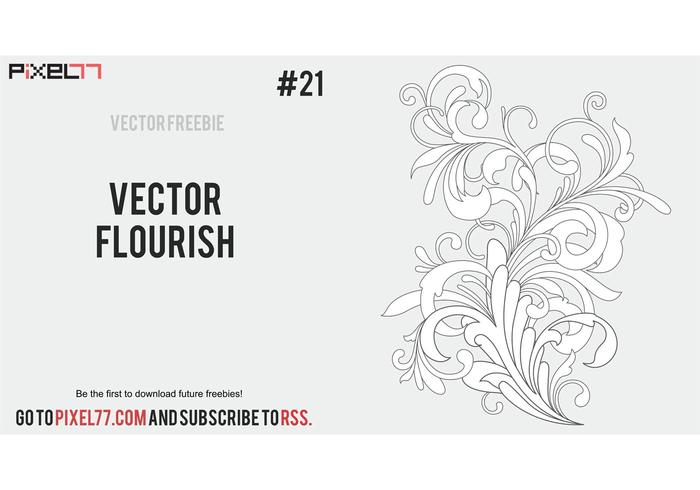 Free Vector Flourish