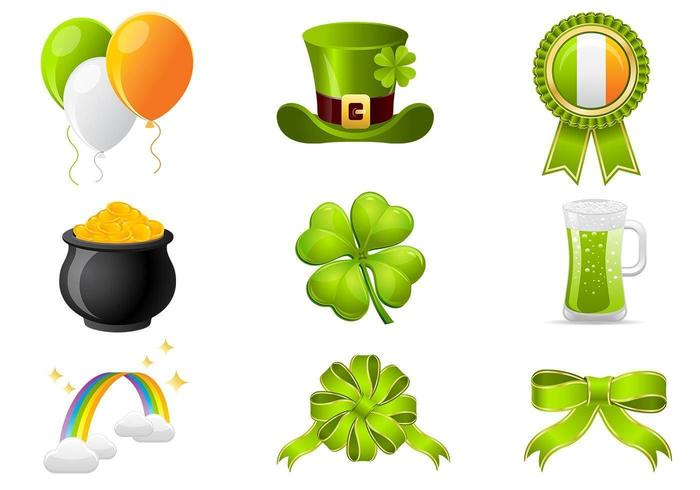 St Patrick's Day Icon Vector Pack