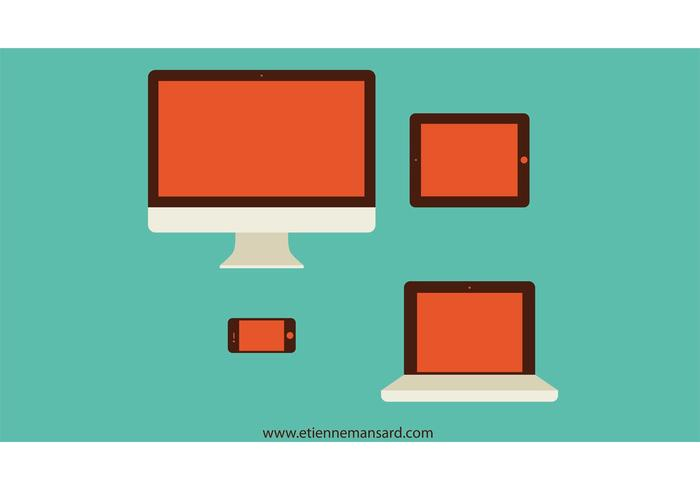 Mac Vector Style Devices
