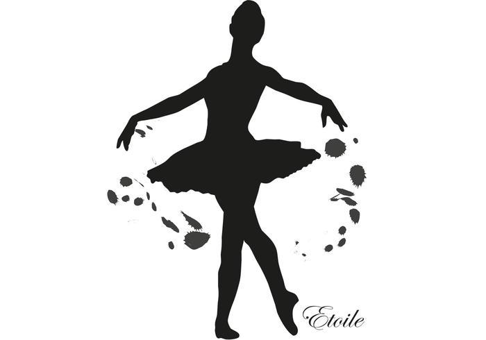 ballerina vector rh vecteezy com ballerina vector shoes ballerina vector art