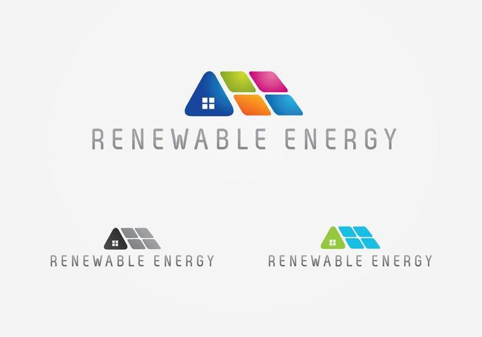 renewable energy logo download free vector art stock