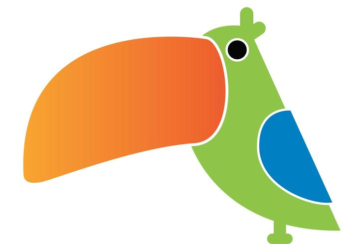 Mr. Toucando Bird Vector