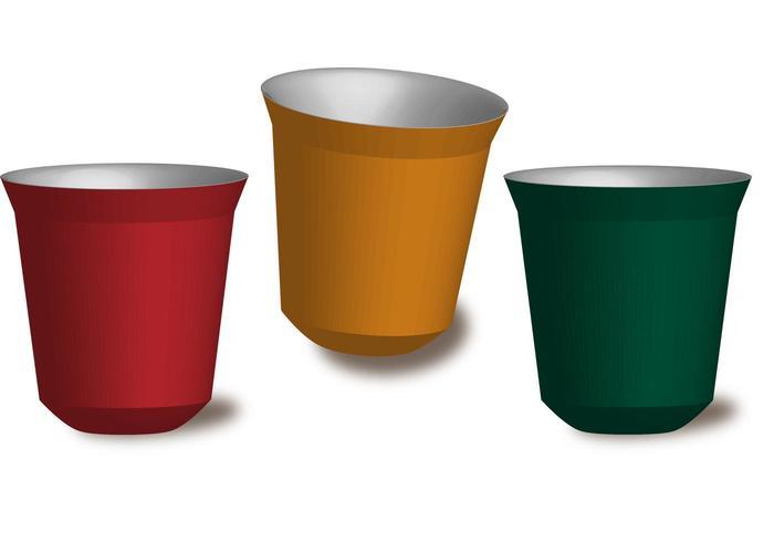 Nespresso Pixie Cup Vector