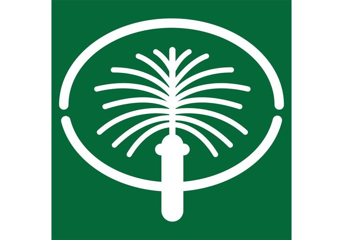 Jumeirah Palm Dubai Logo Vector