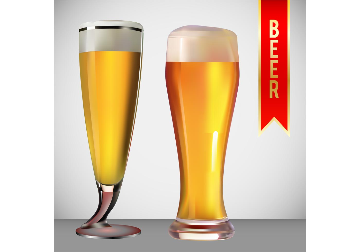 Beer Glasses In One Hand