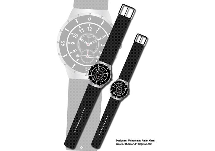 Wrist Watch Vector