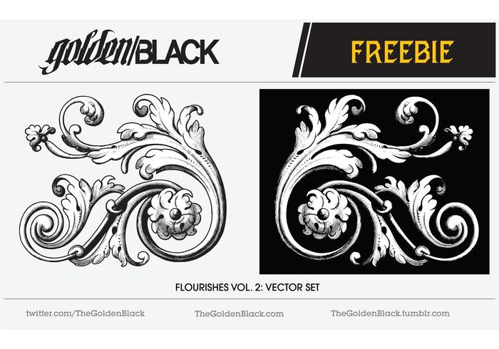 Free Vector Flourish Vector