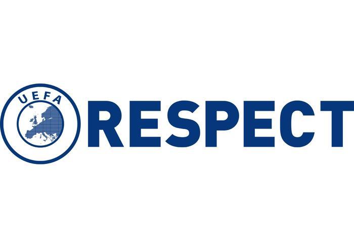 "Logo ""Respect"" Uefa"
