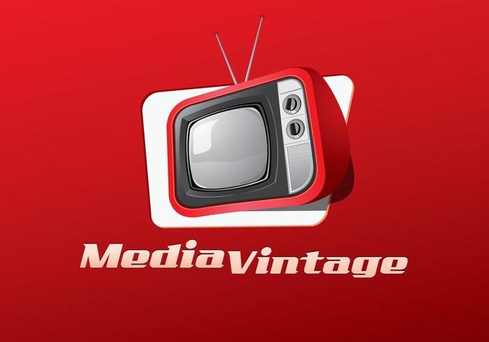 Media Vintage Vector
