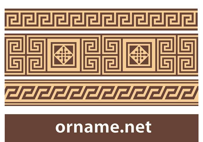 Free Greek Vector Ornament