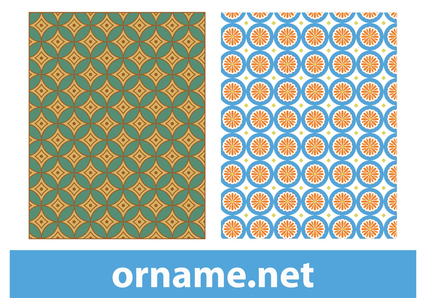 orange and black geometric wallpaper