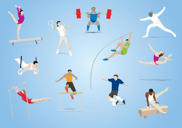Olympic Sports Vector