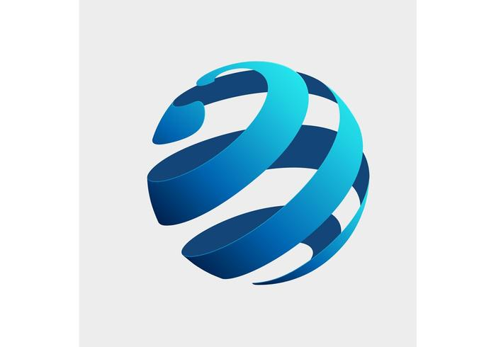 Free Vector of the Day #141: Globe Logo Concept