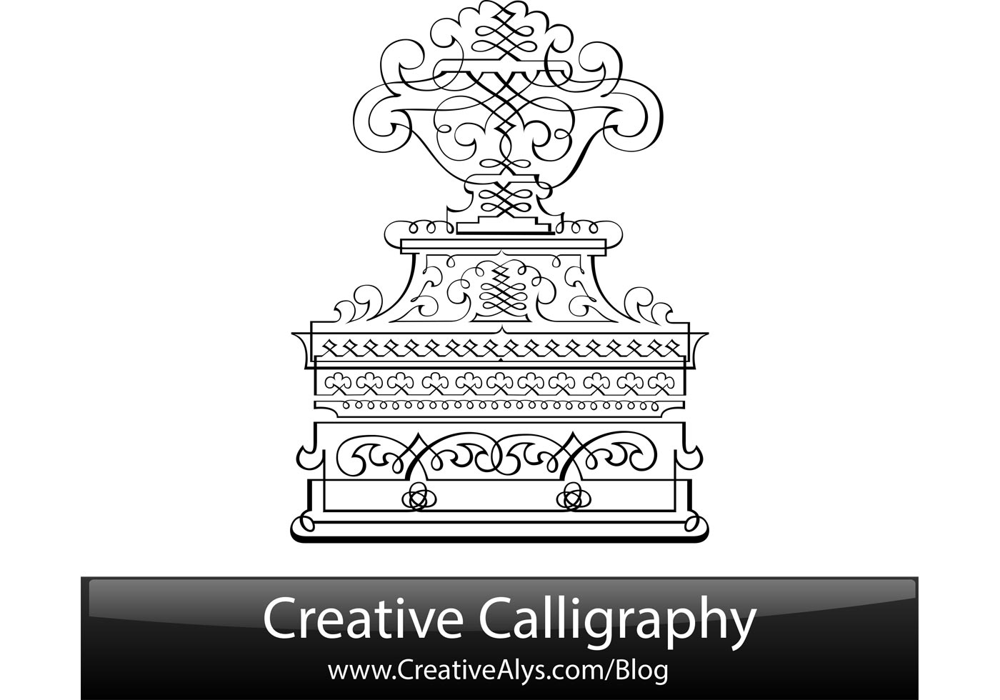 The Creative Calligraphy Sourcebook: Choose from 5