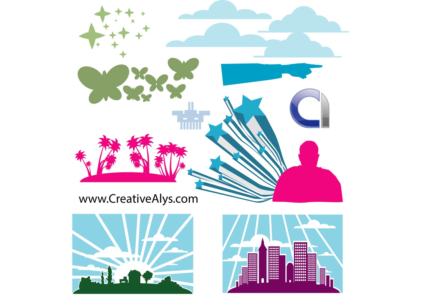 Elements for Logo, Web & Graphic Design - Download Free ...