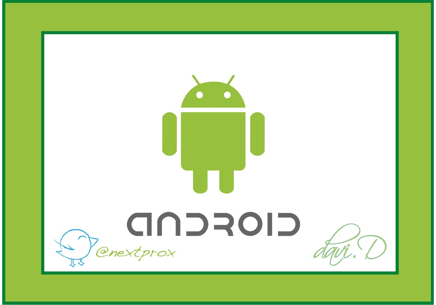 Android Robot Vector Free Vector Art At Vecteezy
