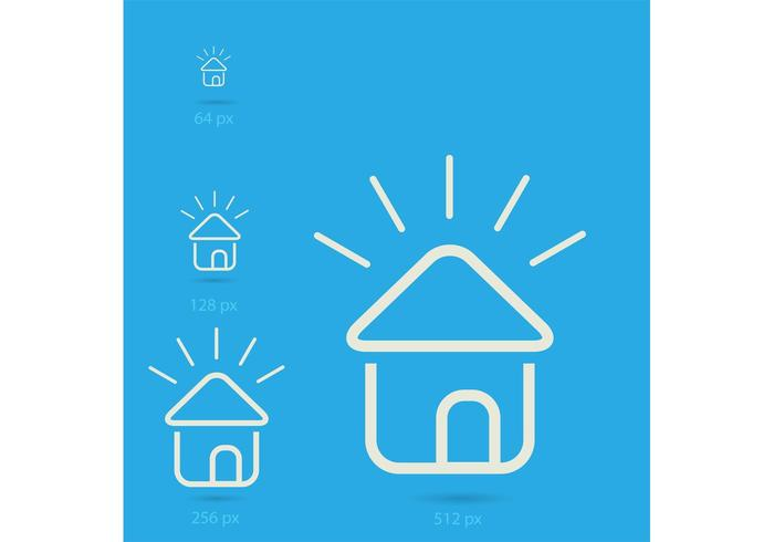 Free Vector of the Day #186: Home Icons