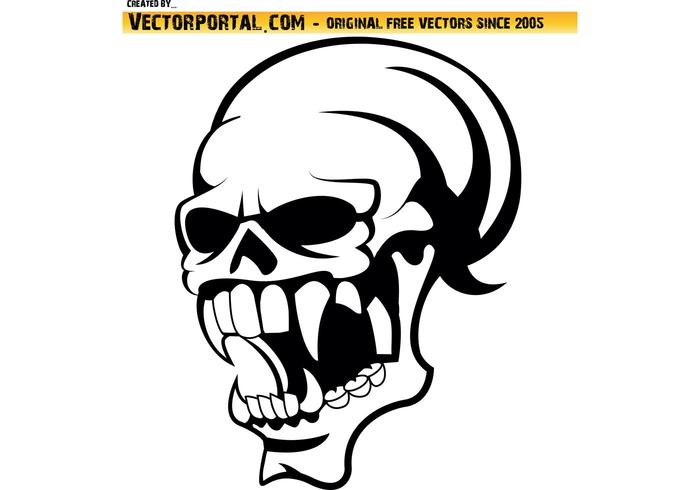 skull vector clip art download free vector art stock graphics rh vecteezy com free download skull vector free download skull vector