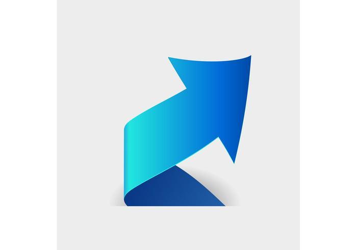 Spiral Arrow Vector Logo