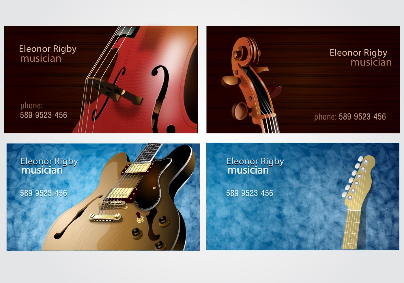 Musicians business card set download free vector art stock musicians business card set download free vector art stock graphics images magicingreecefo Images