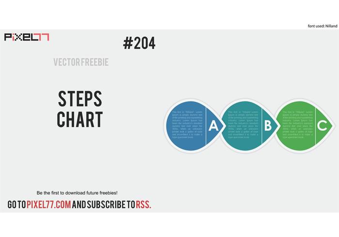Free Vector Of The Day 204 Steps Chart Download Free